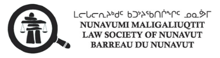 Nunavumi Maligaliuqtit Law Society of Nunavut
